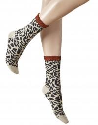 Giraffe Damen Socke