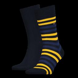 Herren-Socken STRIPE Doppelpack