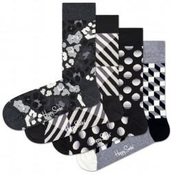 Black & White Geschenkbox Happy Socks für Sie & Ihn